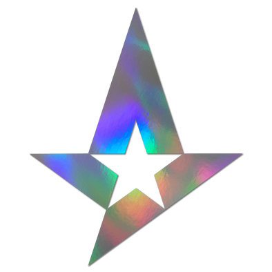 Astralis sticker - Holographic (Large)