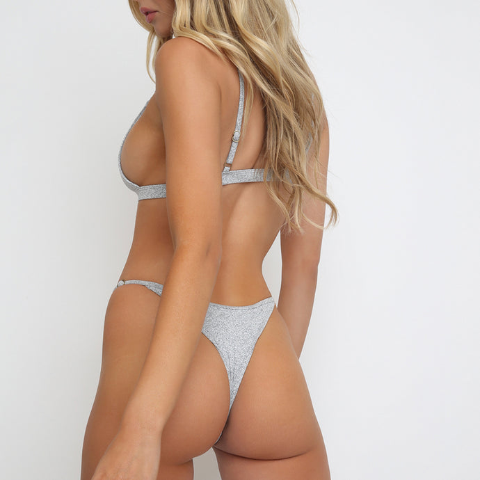 Casi Bottom in Grey