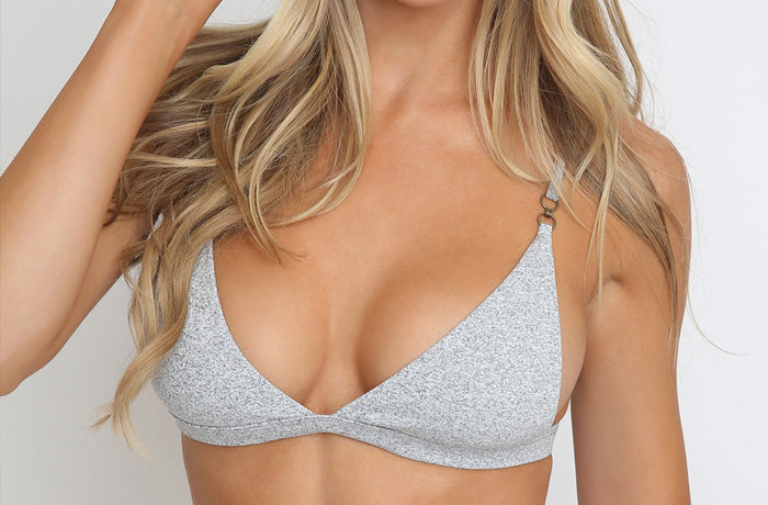 Casi Top in Grey