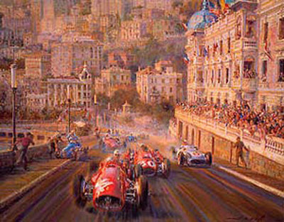 Monaco Magic - Limited Edition of 850 prints