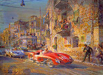 Targa Florio 1958* (CANVAS EDITION) - Limited Edition
