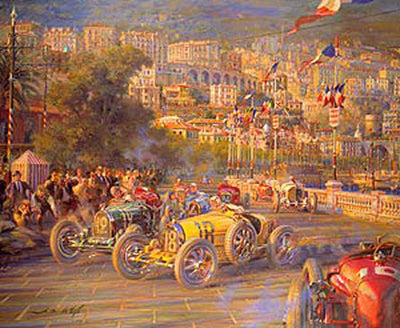 Monaco Grand Prix 1929 (CANVAS EDITION)*
