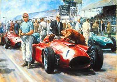 Fangio 1956 World Champion - Limited Edition