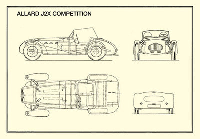 Allard J2X Competition (2-seater)