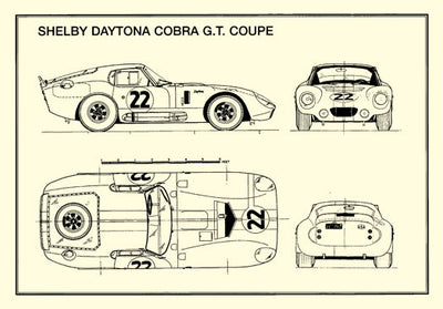 AC Cobra Shelby Daytona GT Coupe