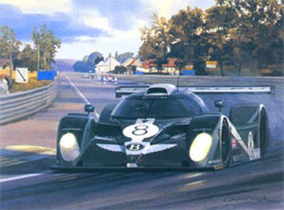 Bentley Returns - 2001 Le Mans