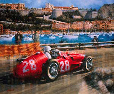 Victory for Moss in Monaco