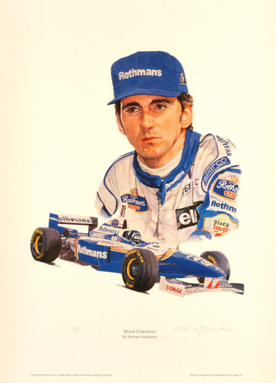 Damon Hill - World Champion 1996