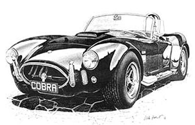 AC Cobra - Limited Edition/Signed