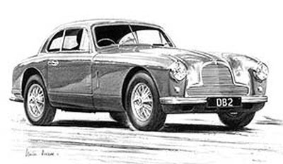 Aston Martin DB2 - Limited Edition/Signed
