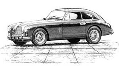 Aston Martin DB2/4 - Limited Edition/Signed