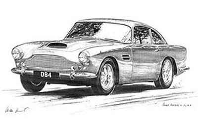 Aston Martin DB4 - Limited Edition/Signed