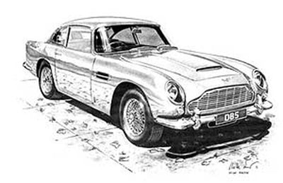 Aston Martin DB5 - Limited Edition/Signed
