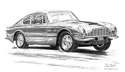 Aston Martin DB6 - Limited Edition/Signed