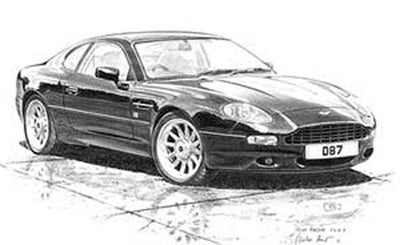 Aston Martin DB7 - Limited Edition/Signed