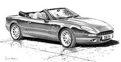 Aston Martin DB7 Volante - Limited Edition/Signed