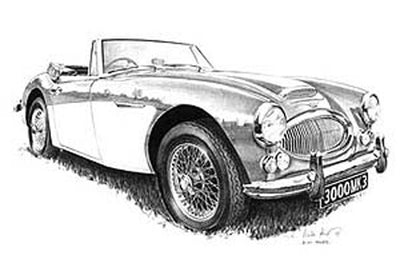 Austin-Healey 3000 Mk.3 - Limited Edition/Signed