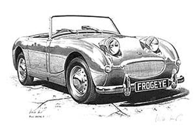 Austin-Healey Sprite - Limited Edition/Signed