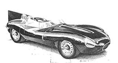 Jaguar D-Type - Limited Edition/Signed