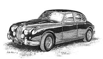 Jaguar MkII Coombes - Limited Edition/Signed