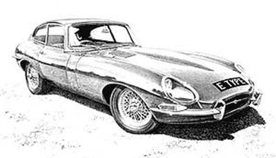 Jaguar E-Type Series 1 Coupe - Limited Edition/Signed