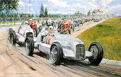 Birth of the Silver Arrows - Signed