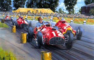 Ferrari - The First Grand Prix Victory - Signed