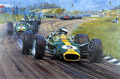 Jim Clark OBE - Signed