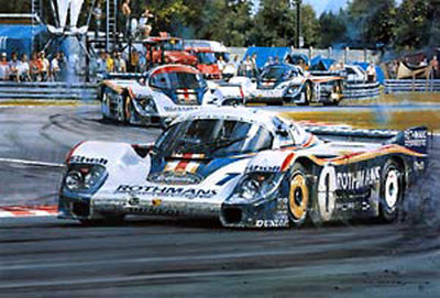Porsche Domination - Le Mans 1982 - Signed