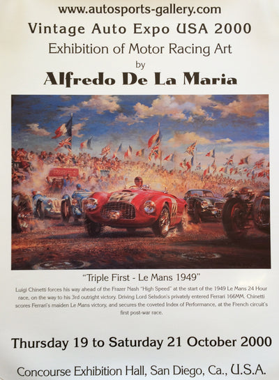 Triple First - Le Mans 1949
