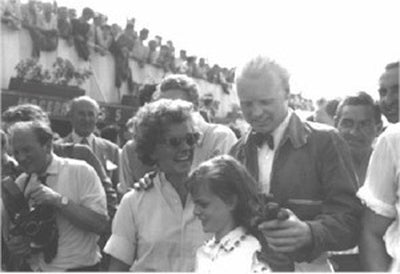 Mike Hawthorn and Louise Collins