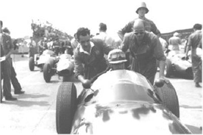 Harry Schell and the BRM