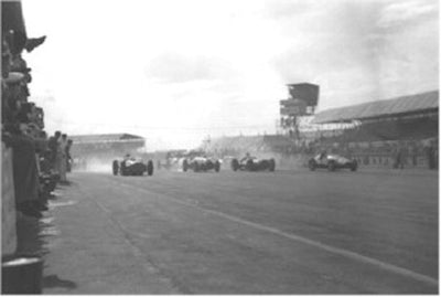 Silverstone 1953, start of the Formula Libre race