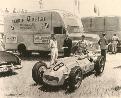 Goodwood Paddock 1951 - Limited Edition