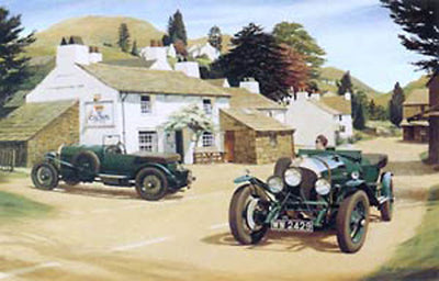 Bentleys at the Crown