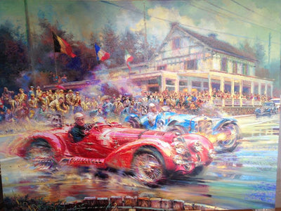 Spa Francorchamps 24 Hour Race 1938