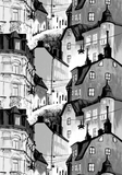 Södermalm Fancy Curtain 140x250 cm