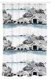 Houtskari Shower Curtain