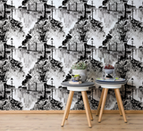 5237-1 Aurajoki wallpaper grey