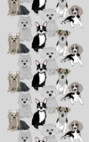 Doggies Black Out Curtain 140x240 cm