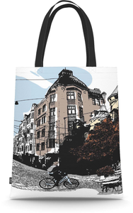 City Tote Bag Bulevardi 36x42 cm