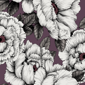5334-1 Alma wallpaper plum