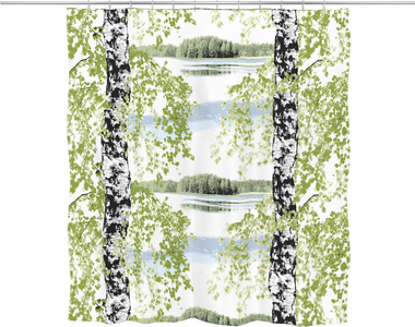 Päijänne Shower Curtain