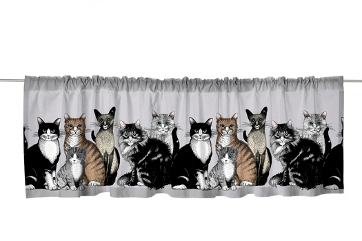 Kitties Valance 60x250 cm