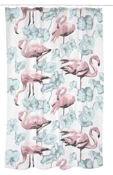 Flamingot  Shower Curtain