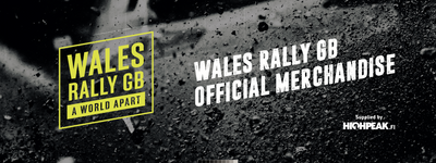 Wales Rally GB Merchandise