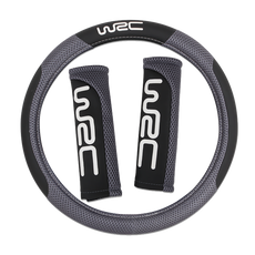 WRC Seat Belt Pad + wheel cover - Accessories