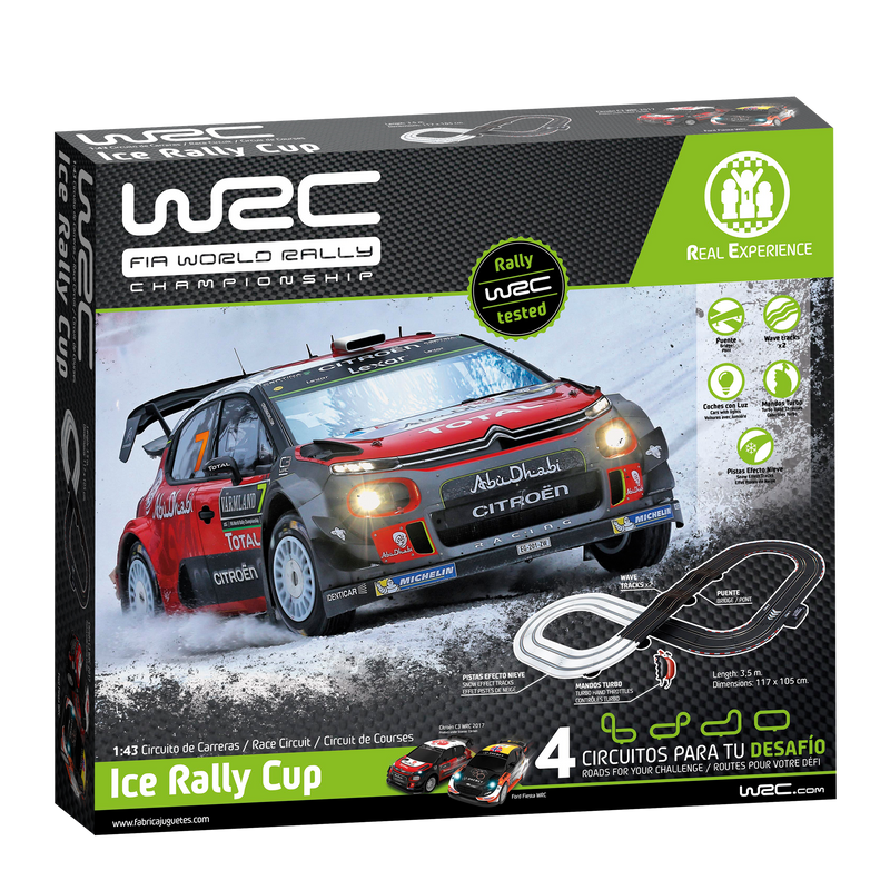WRC Slot Racing Set - Ice Rally Cup