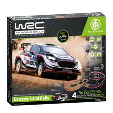WRC Slot Racing Set - Extreme Land Rally