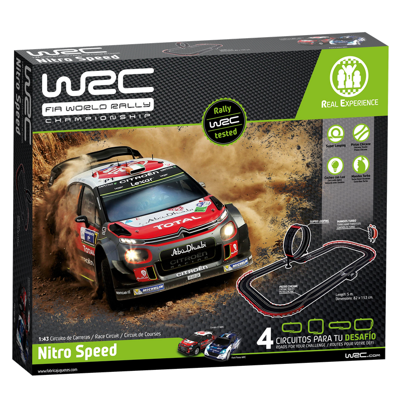 WRC Slot Racing Set - Nitro Speed